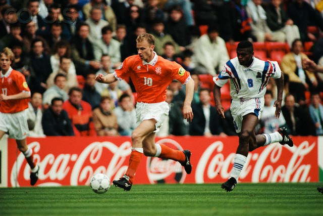 Soccer - Euro 1996 - France vs Netherlands