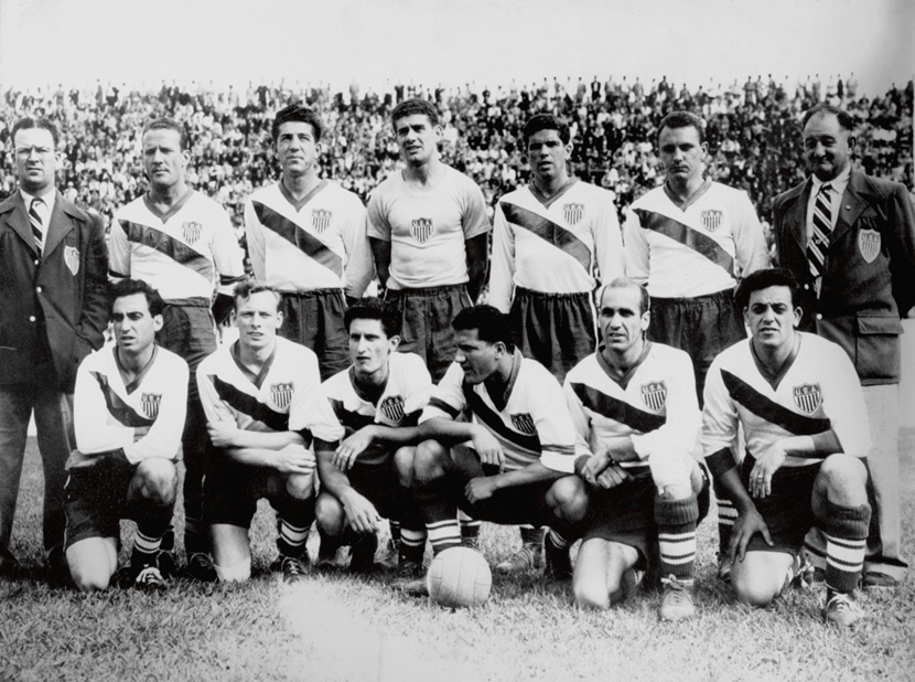 Soccer - World Cup Brazil 1950 - Group Two - England v USA