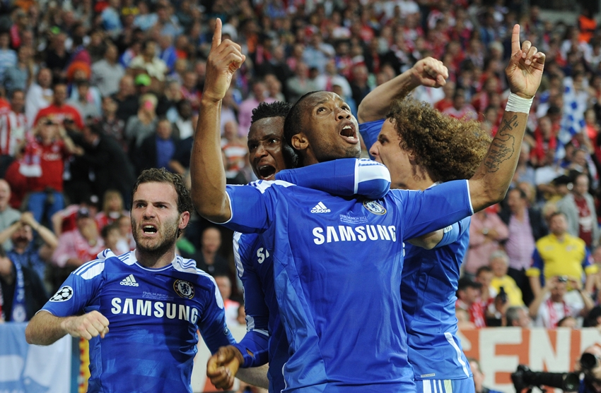 Soccer - UEFA Champions League Final 2012 - Chelsea vs. Bayern Munich