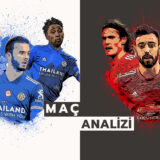 Analiz   Leicester 2-2 Manchester United