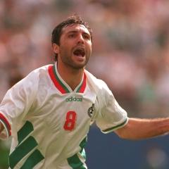 Bulgar futbolunun kutsal hançeri: Hristo Stoichkov