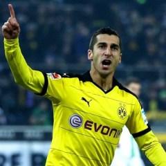 Mkhitaryan Dortmund'u reddetti