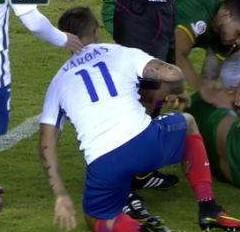 Copa America'da korku dolu anlar