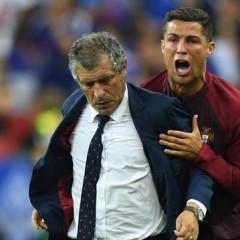 Ronaldo'nun finaldeki son 2 dakikası