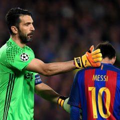 Buffon'dan Messi'ye geçit yok