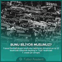 Beşiktaş #BunuBiliyorMusunuz