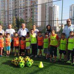 Türk Hava Yolları Spor Kulübü Fubol Okulları UMUDA ile işbaşı yaptı