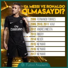 Messi'siz Ronaldo'suz Altın Top'u kim kazanacaktı?