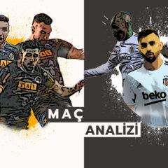 Analiz | Alanyaspor 2-1 Beşiktaş