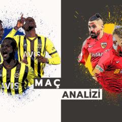 Analiz | Fenerbahçe 3-0 Kayserispor