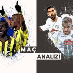 Analiz   Fenerbahçe 1-0 Çaykur Rizespor