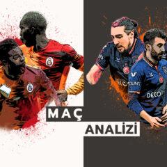 Analiz | Galatasaray 3-0 Başakşehir