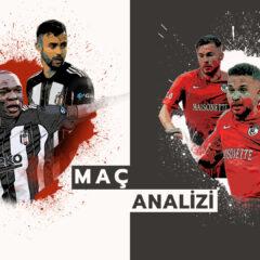 Analiz | Beşiktaş 2-1 Gaziantep FK