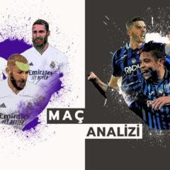 Zidane'ın, Atalanta'nın 3-4-3'üne karşı 3-5-2 tercihi | Real Madrid 3-1 Atalanta