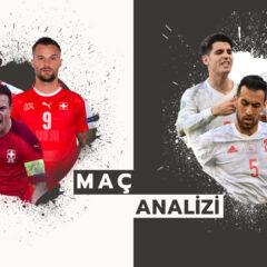 Analiz | İsviçre(1) 1-1 (3)İspanya